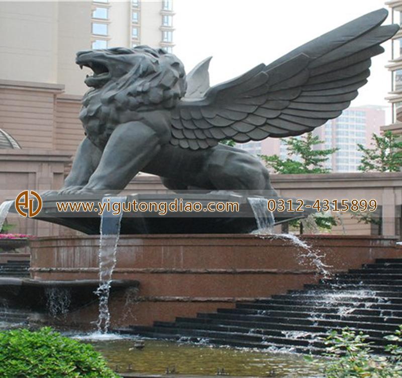 铜雕动物狮子雕塑